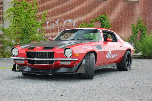 1971 Camaro with a 418 ci LS3 V8