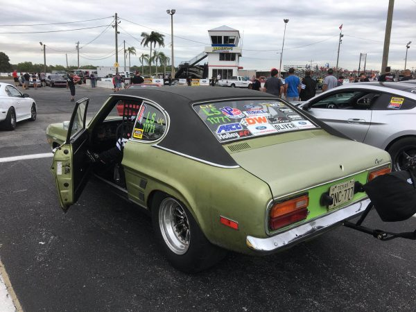 1973 Capri with a Coyote V8