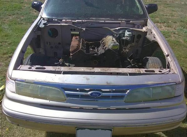 1996 Crown Victoria with a nitrous 460 ci Ford V8