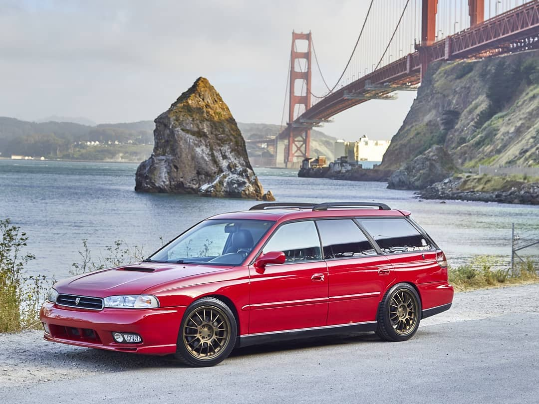 1997 Subaru Legacy Wagon with a turbo EJ207 flat-four