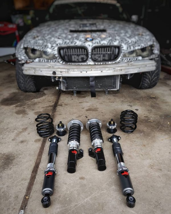 2002 BMW 325i with a Coyote V8