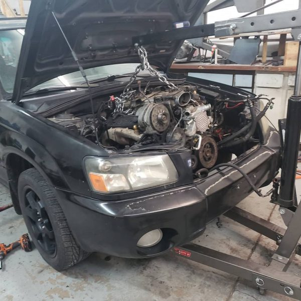 2004 Subaru Forester with a 350 ci LT1 V8