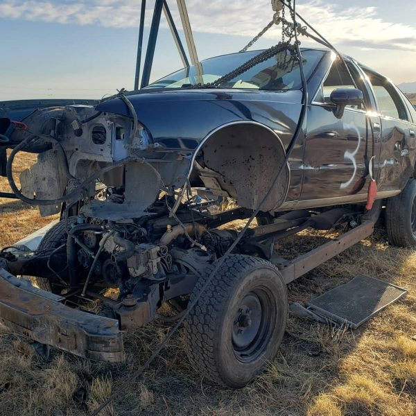 1994 Chevy Caprice donor car with a 350 ci LT1 V8 and 4L60E transmission