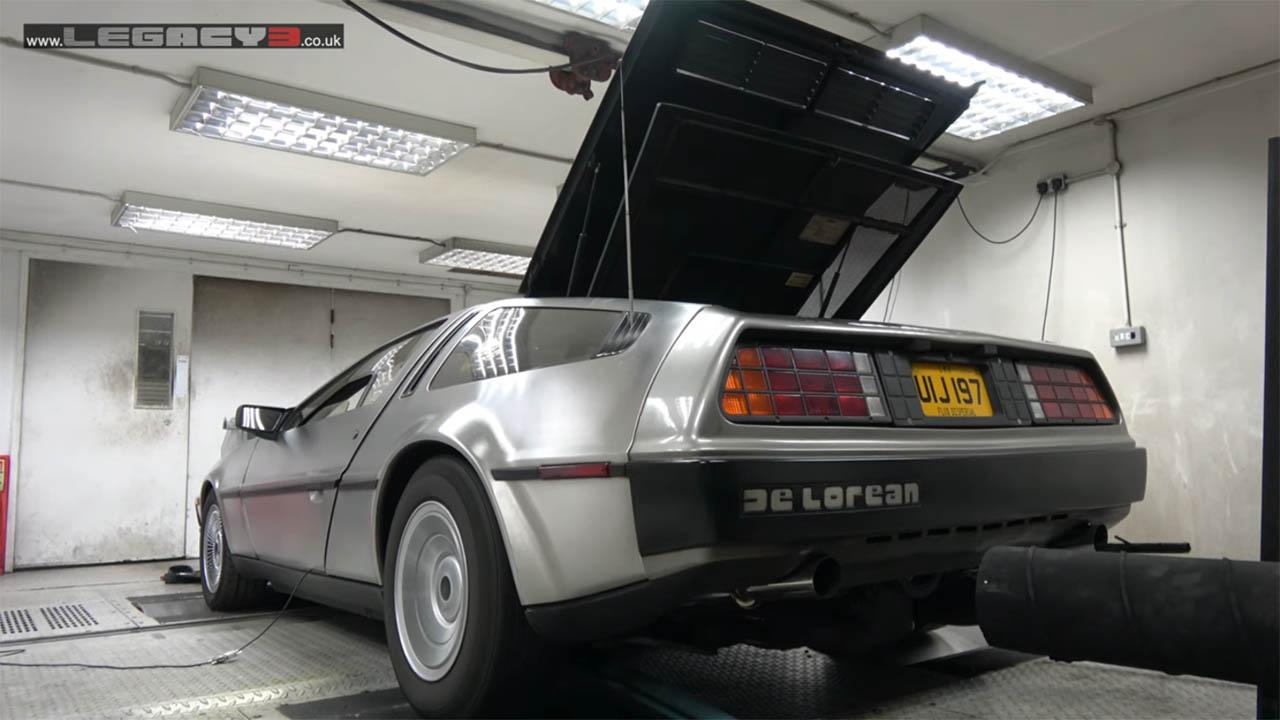 DMC DeLorean with a LS3 V8