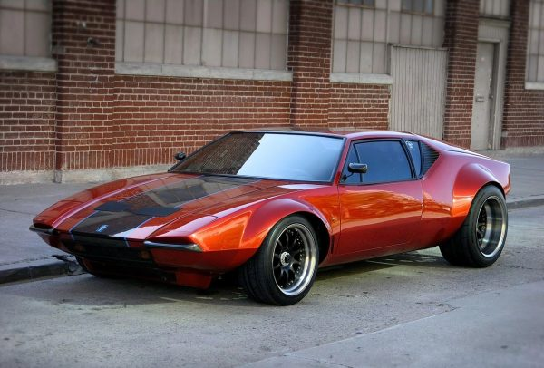 De Tomaso Pantera with a 427 ci Windsor V8