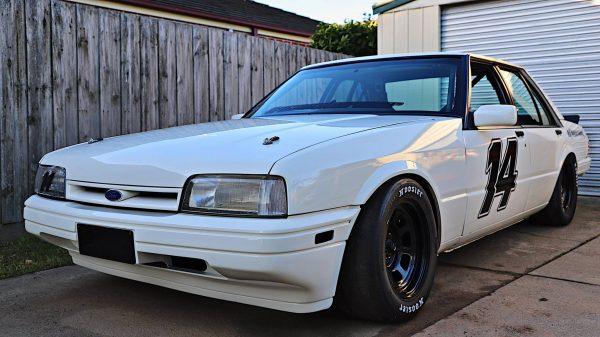 Ford Fairmont Ghia with a 5.0 L Windsor V8