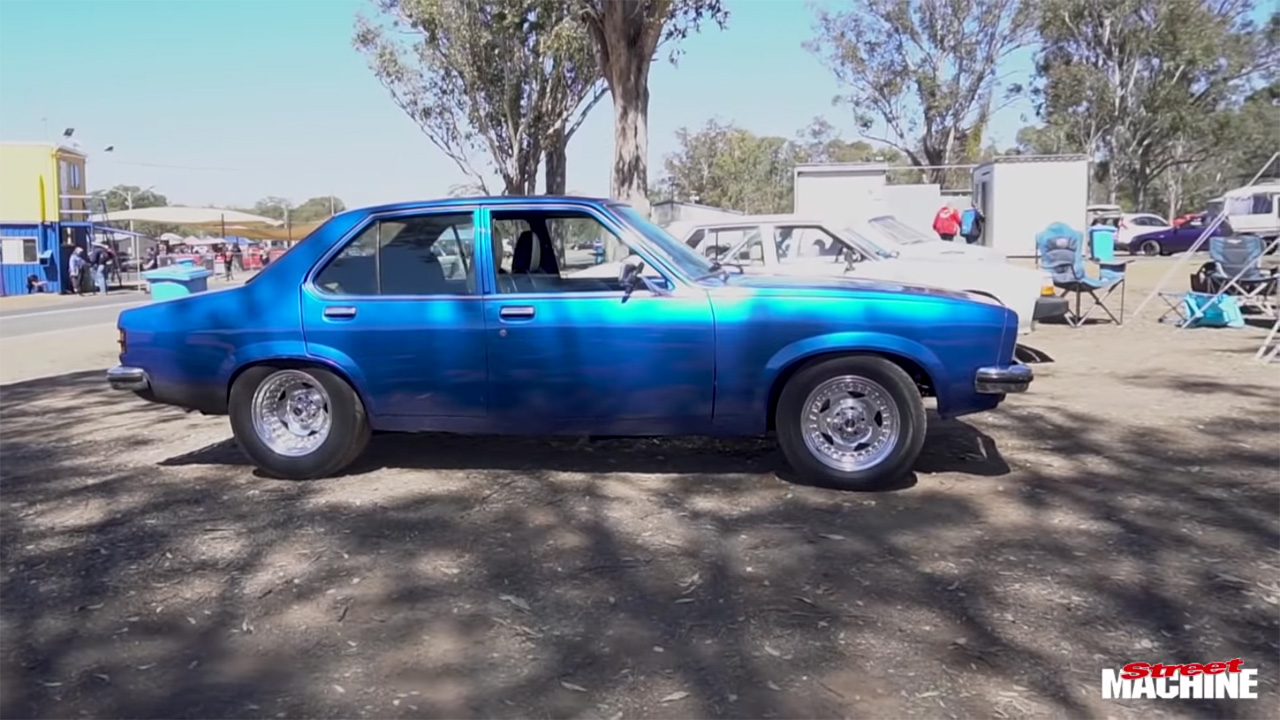 Holden Torana with a Twin-Charged 2JZ Inline-Six