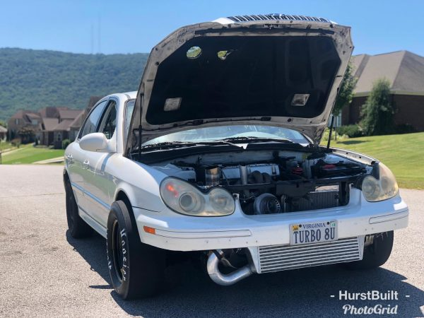 Hurst Built 2004 Hyundai Sonata with turbo G4JS inline-four