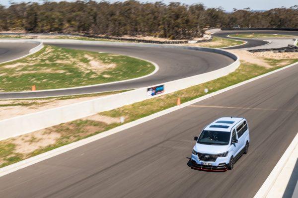Hyundai iMax N with a Twin-Turbo V6