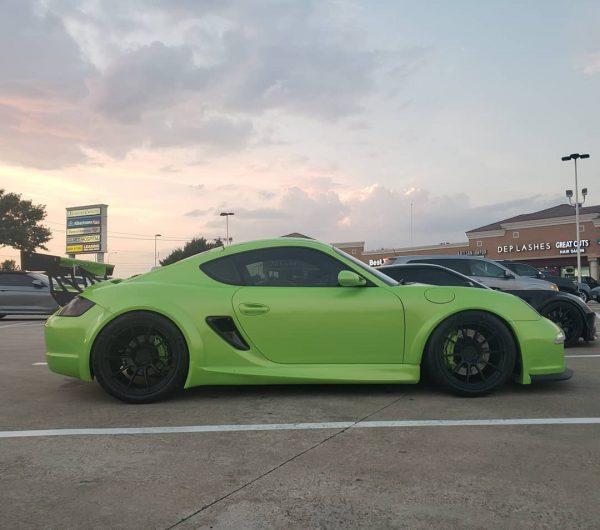 Porsche Cayman with a Twin-Turbo LSx V8