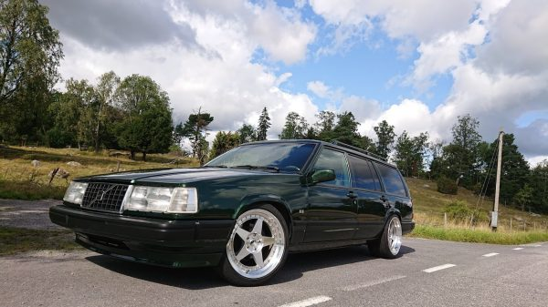Volvo 945 with a turbo Barra inline-six