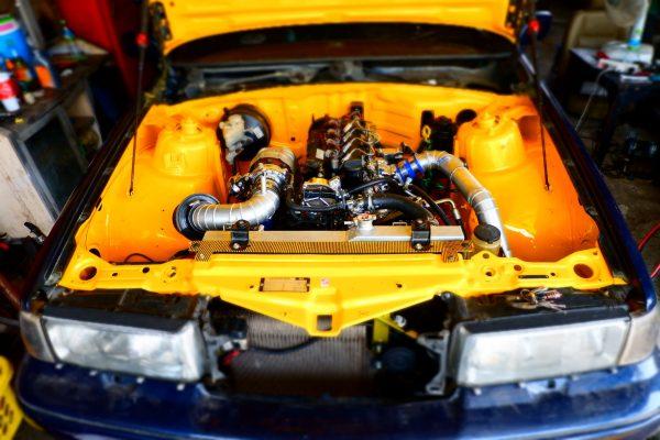Volvo Sedan with a Isuzu Turbo Diesel Inline-Four