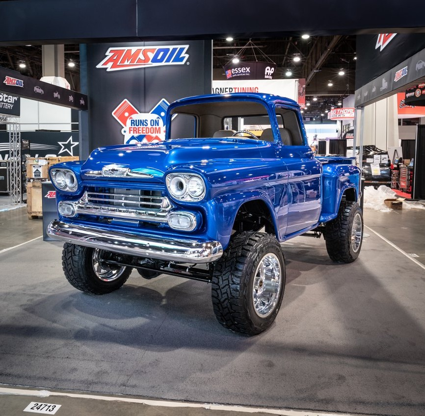 1959 Chevrolet Apache with a Duramax Turbo Diesel V8