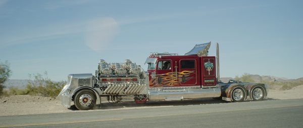 1979 Peterbilt 359 Semi with two Supercharged Detroit Diesel V12 engines
