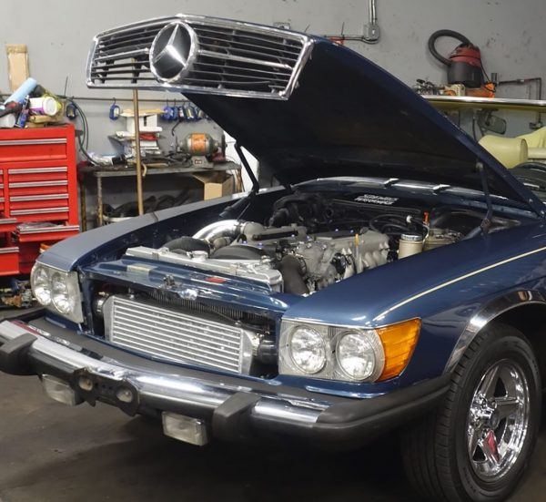 1980 Mercedes 450SL with a 1JZ-GTE Inline-Six