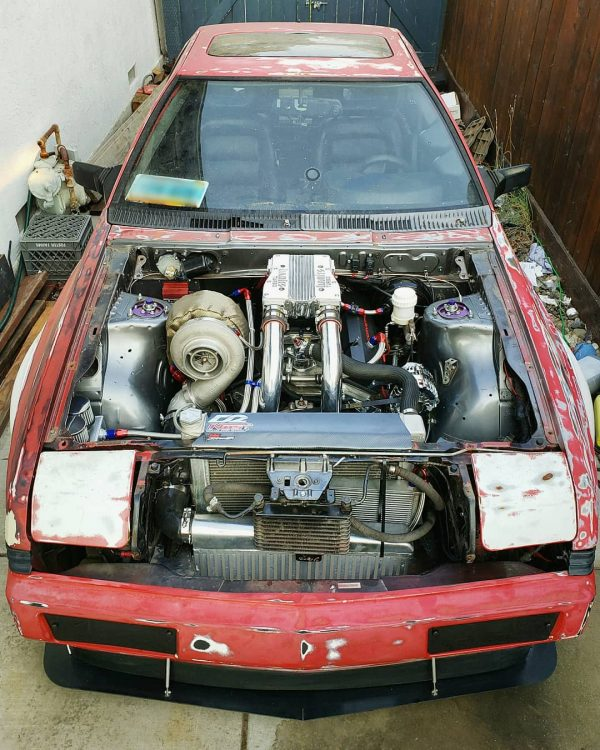 1989 Mitsubishi Starion with a Turbo 408 ci Chevy V8