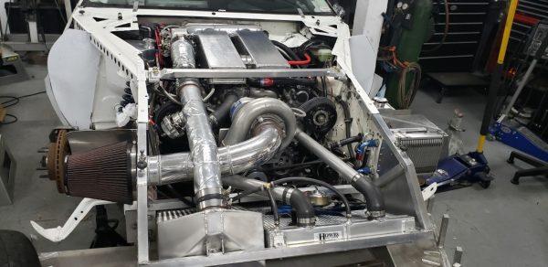928 Motorsports supercharged Porsche V8
