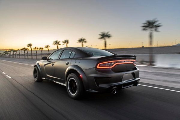 AWD Dodge Charger with a Twin-Turbo Demon V8