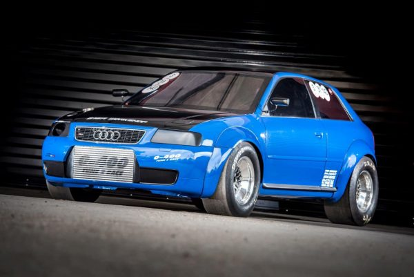 Audi S3 with a 1200 hp Turbo VR6