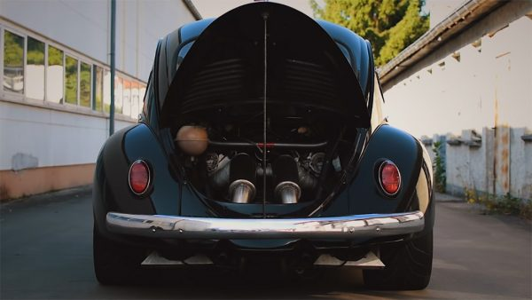 Beetle with a Twin-Turbo Audi V8