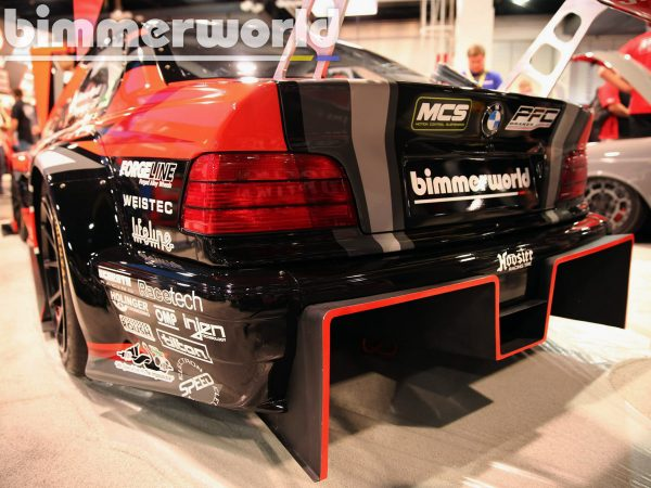 BimmerWorld BMW E36 with a Twin-Turbo S63 V8