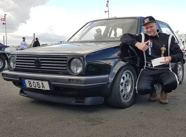 Boba Motoring Golf Mk2 with turbo 2.0 L ABF I4