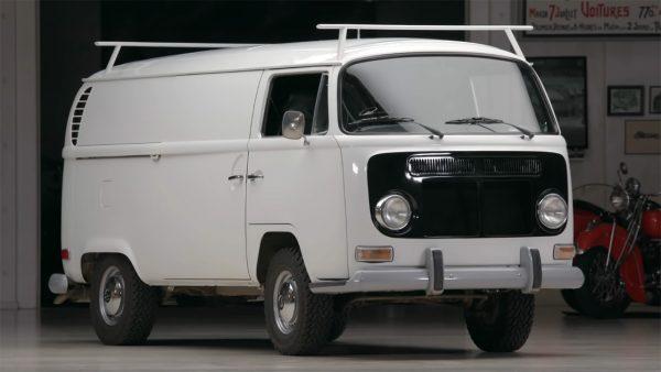 Peter Brock's Volkwagen Bus with a Buick V8