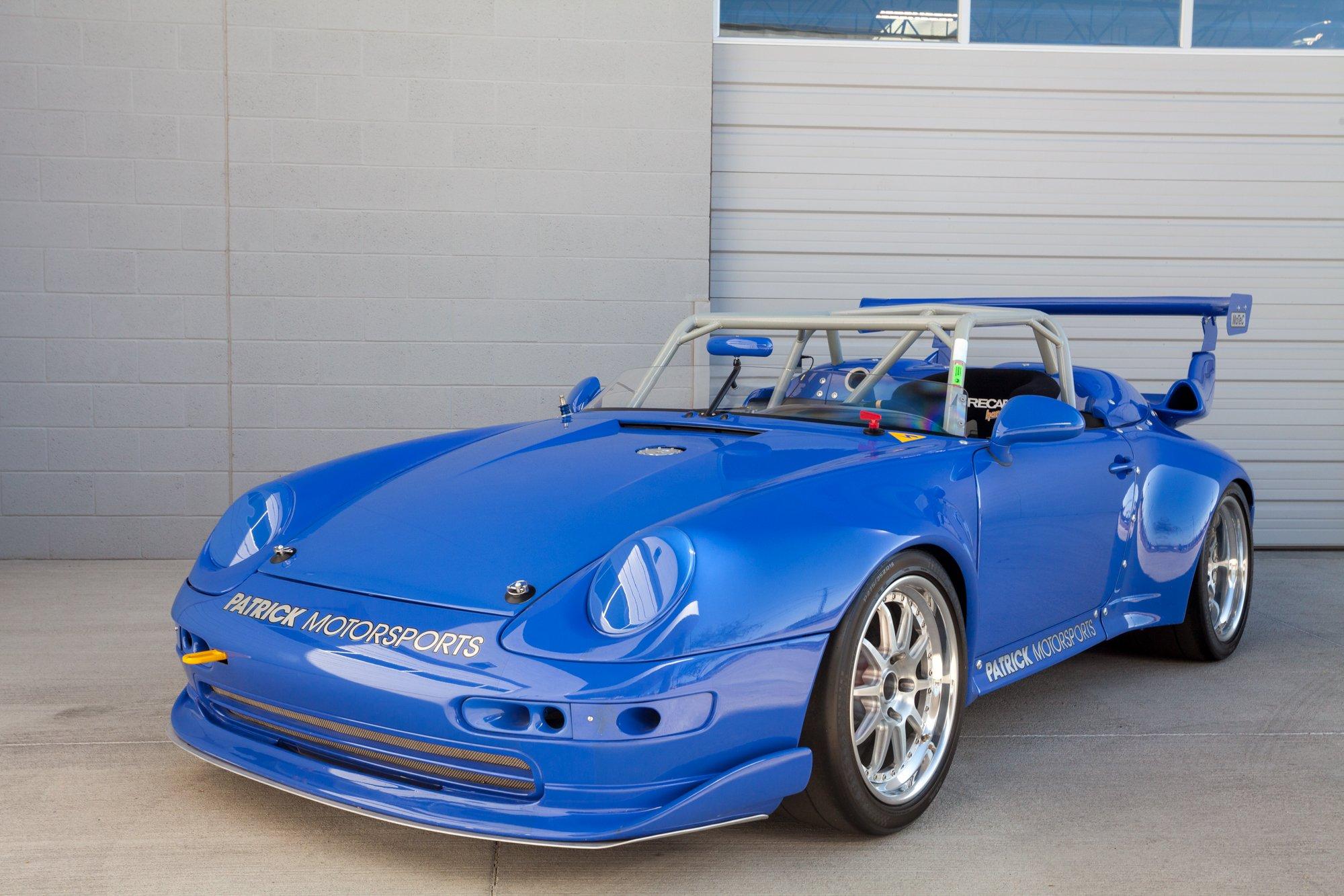 Porsche 993 Race Car with a 3.8 L Flat-Six