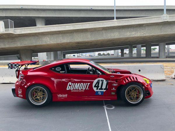 Toyota GT86 with a Ferrari F136 V8