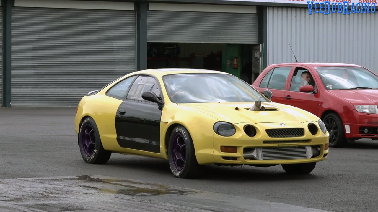 Toyota Celica GT-Four with a Turbo 3S Inline-Four