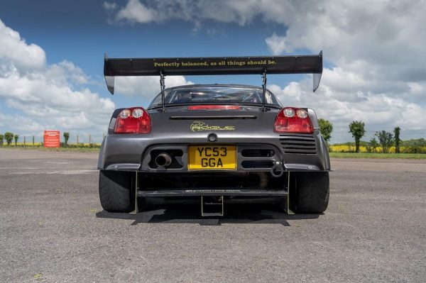 Toyota MR2 with a 3.5 L 2GR V6