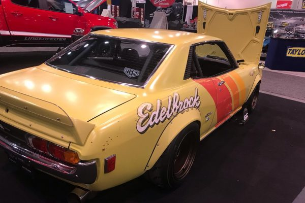 1973 Celica with a 5.7 L LSx V8
