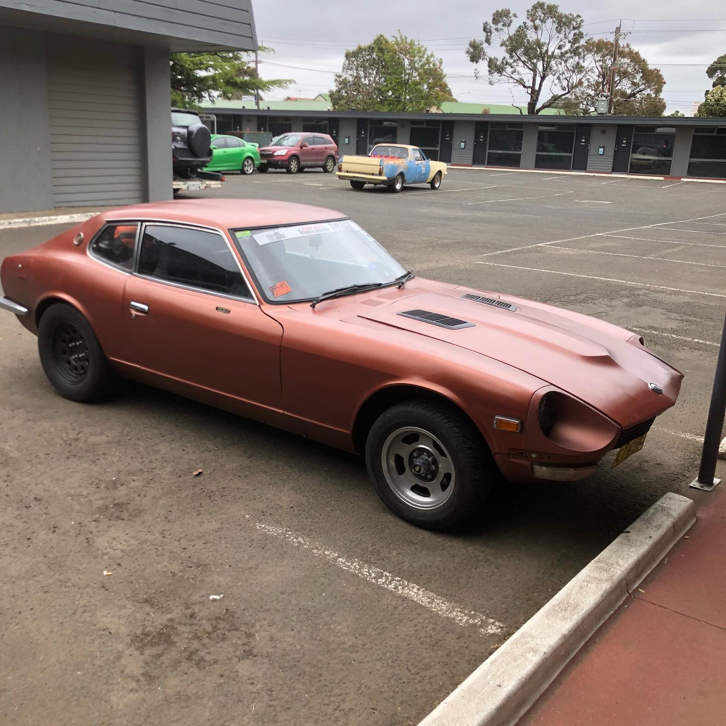 1977 Datsun 260Z with a turbo Barra inline-six