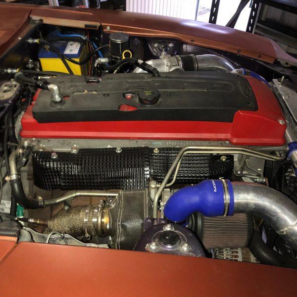 1977 Datsun 260Z with a turbo Barra inline-six