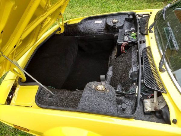 1977 Fiat X1/9 with a Honda K20 inline-four