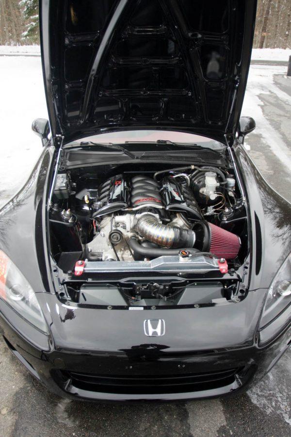 2002 Honda S2000 with a LS2 V8