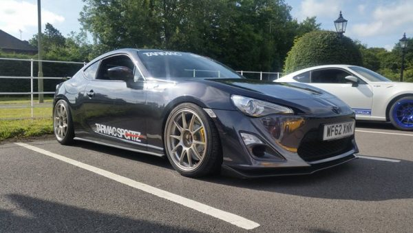 2013 Toyota GT86 with a supercharged 1UZ V8