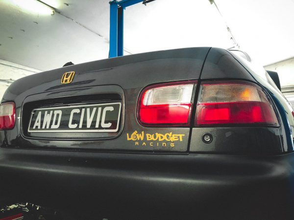 AWD Civic RTSi with a Turbo B18