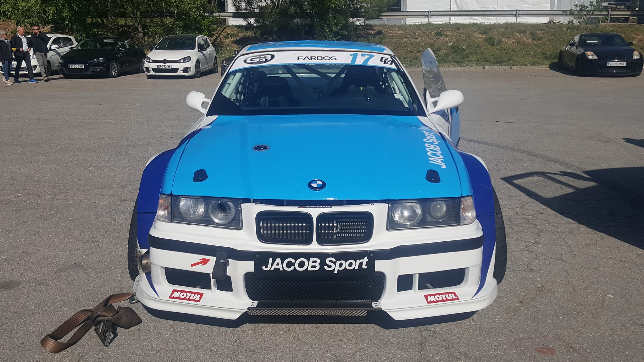 Jacob Sport BMW E36 with a Turbo VQ35 V6