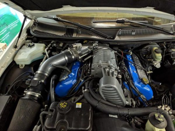 Lincoln Town Car with a Cobra supercharged 4.6 L V8
