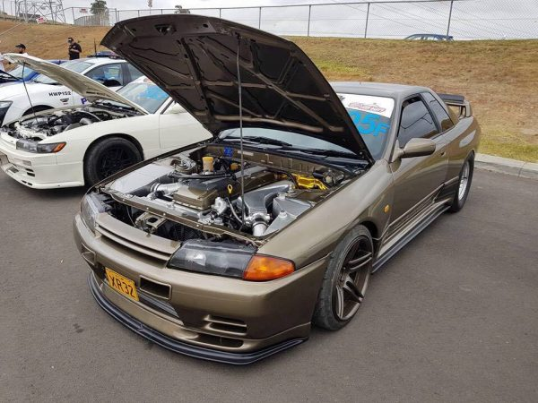 Nissan R32 Skyline with a Ford Barra inline-six