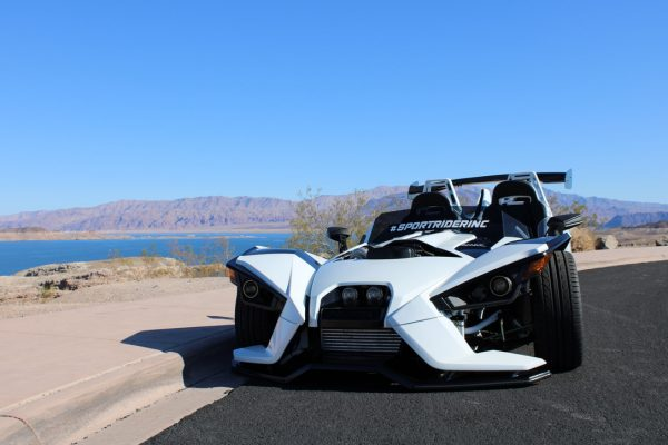 Polaris Slingshot with a turbo 2JZ inline-six