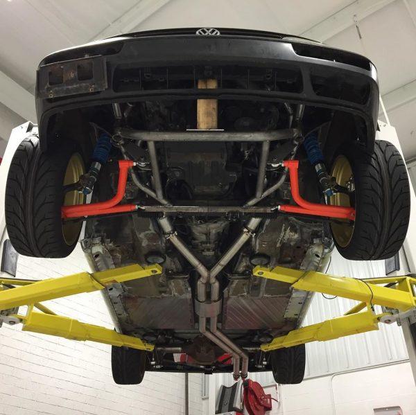 RWD Golf Mk3 with a BMW M62 V8