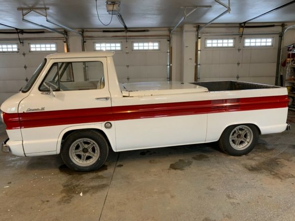 1962 Corvair 95 Rampside with a Chevy V8