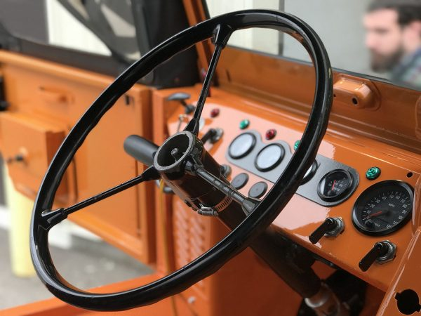 1963 Mercedes Unimog with a Turbo Diesel OM617 Inline-Five