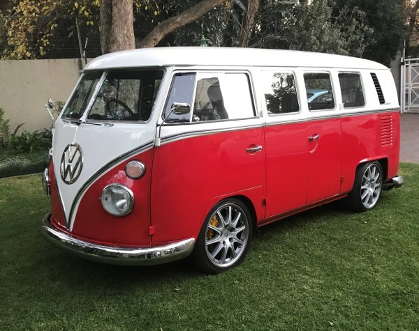1967 VW Kombi with Porsche 993 flat-six and AWD drivetrain
