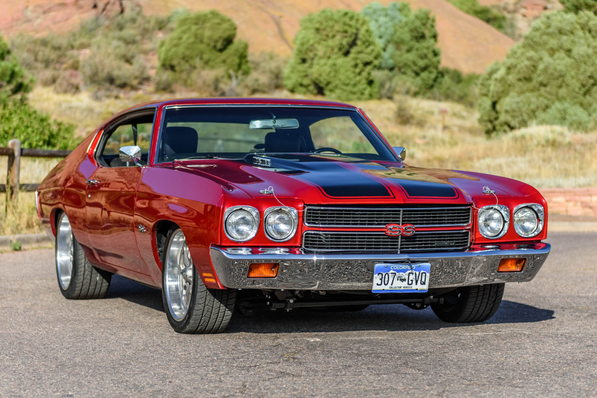 1970 Chevelle with a supercharged LSA V8