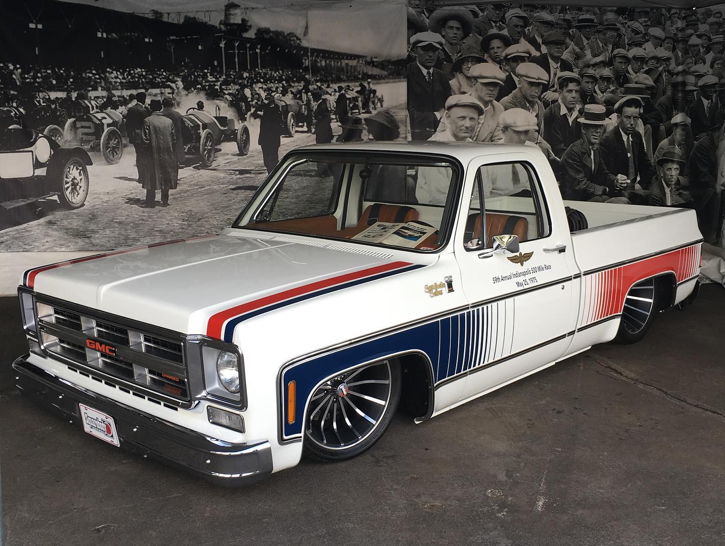 1976 GMC Truck with a Supercharged LS3 V8