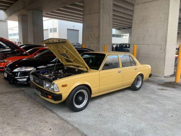 1981 Toyota Corona with a turbo 1JZ inline-six