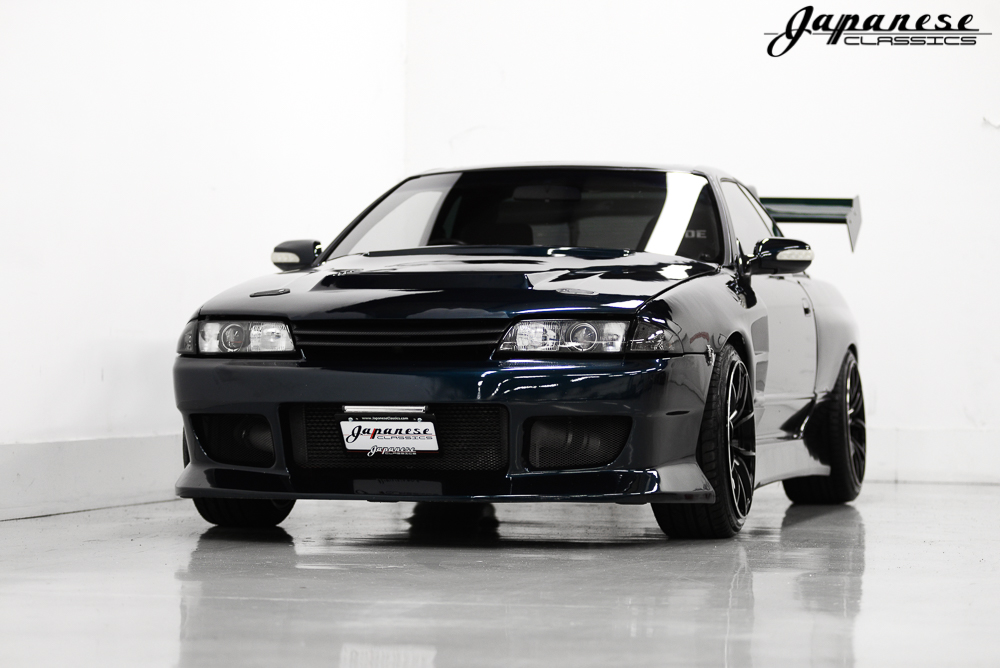 1991 Nissan R32 with a SR20DET inline-four